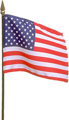 American Flag photo clipart