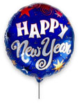 New Year Balloon