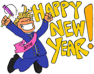 Free New Year Clipart - Animated New Year Clip Art