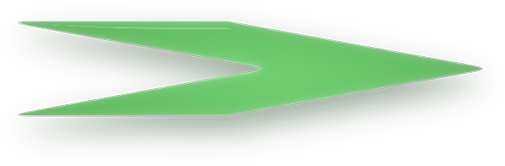 green glass arrow