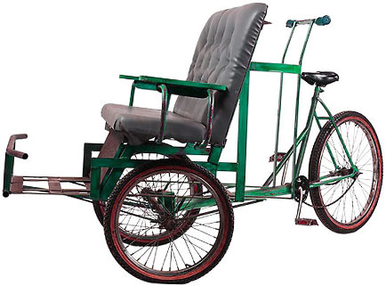 rickshaw bicycle