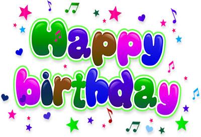 Free Birthday Clipart - Animated Birthday Clipart - Graphics