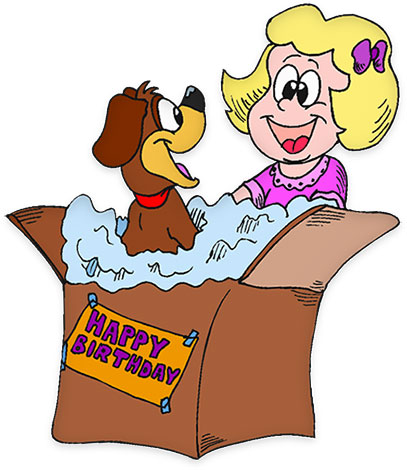 Birthday Clipart - Gifs, Graphics