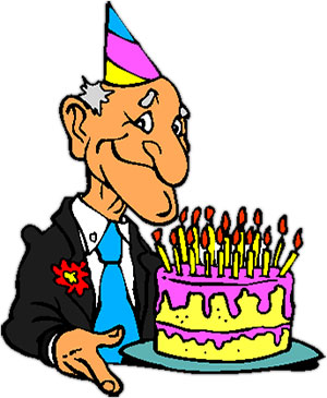 Clipart Birthday Dancing Cake : Free Birthday Clipart - Animated Birthday Clipart - Graphics