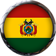 Bolivia Flag button