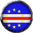 Cape Verde flag button