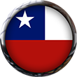 Chile Flag button