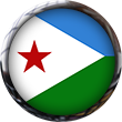 Djibouti Flag button