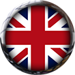United Kingdom Flag button clipart