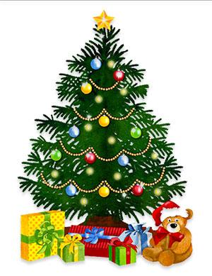 Christmas Clip Art.Free Animated Christmas Trees Christmas Tree Clipart