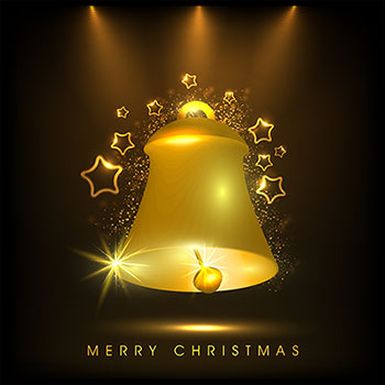 Merry Christmas bell