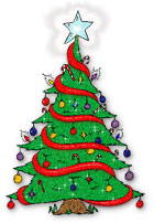 Cartoon Christmas Tree High Quality – Christmas trees can be rather simple to draw, and this youtube video represents that well.