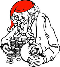 Ebenezer Scrooge and his money