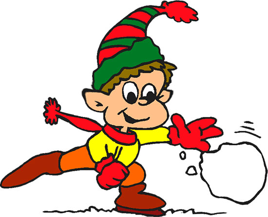 Free Christmas Clipart - Christmas Elf Clipart