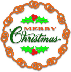 Free Christmas Wreaths Clipart Wreath Animations