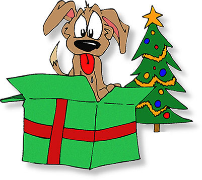 Christmas gifts presents free christmas clipart puppy for christmas negle Gallery