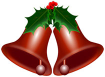 free christmas bell clipart animated christmas bells rh wilsoninfo com christmas silver bells clip art Holiday Silver Bells Clip Art