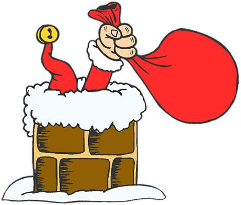 Christmas Clipart Santa.Santa And Elves Free Christmas Clipart