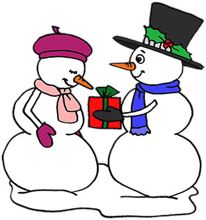 Free Snowman Animations Animated Snowmen Clipart