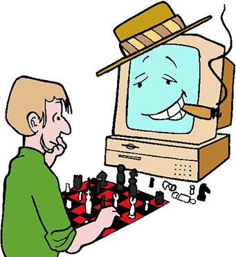 computer playing chess