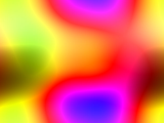 smooth fractal wallpaper 640 x 480 bright colors