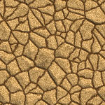 Dry river bed background image