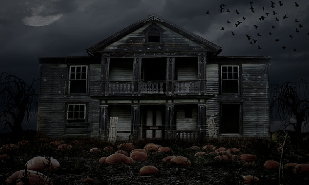 haunted house 1280 x 768