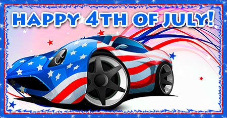 4th of July car