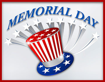Memorial Day with stars