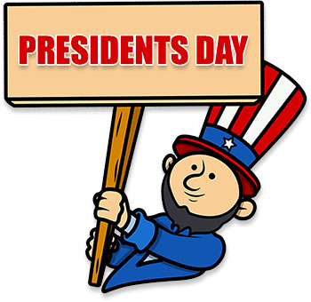 free presidents day animations clipart