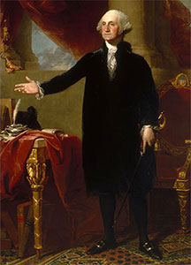 George Washington standing