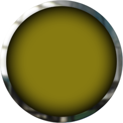 yellow button with chrome frame