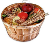 basket of harvest food