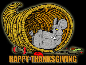 Happy Thanksgiving Clipart Including Cornucopia