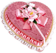 pink valentine box of chocolates