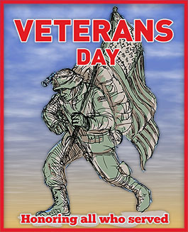 Veterans Day - Soldier