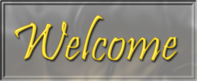 welcome clipart with frame